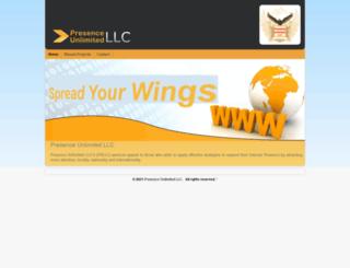 presenceunlimitedllc.com screenshot