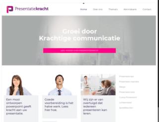presentatiekracht.nl screenshot