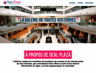 presentation.dealplaza.fr screenshot