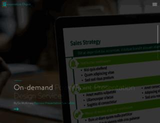 presentationdepot.com screenshot