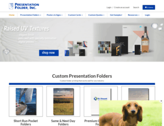 presentationfolder.com screenshot