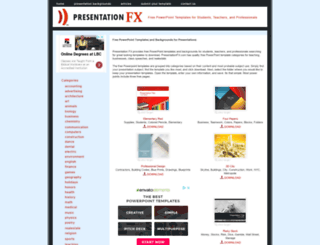 presentationfx.com screenshot