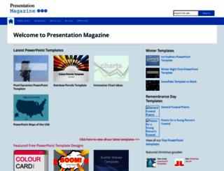 presentationmagazine.com screenshot