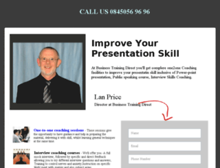 presentationskill.myinstapage.com screenshot