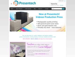 presentech.com screenshot