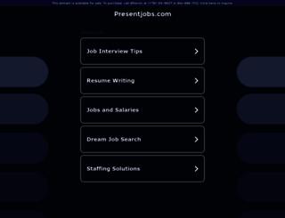 presentjobs.com screenshot