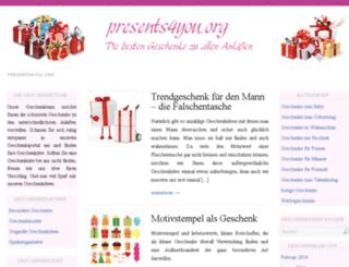 presents4you.org screenshot