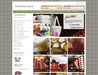 preserveshop.co.uk screenshot
