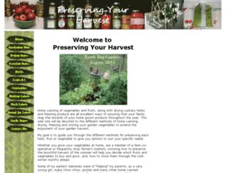 preservingyourharvest.com screenshot