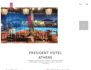 president.hermeshotelia.com screenshot