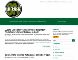 press-on.de screenshot