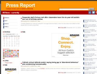 press-report.co.uk screenshot