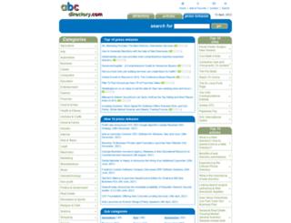 press.abc-directory.com screenshot