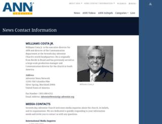 press.adventist.org screenshot
