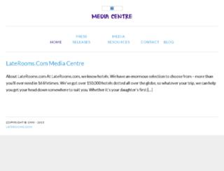 press.laterooms.com screenshot