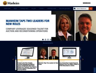 press.manheim.com screenshot