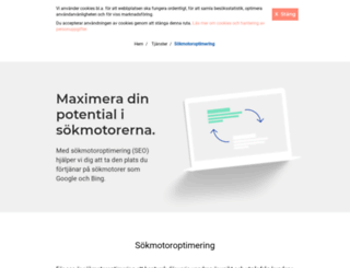 press.mediaanalys.se screenshot