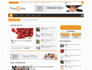 presscenter.nl screenshot