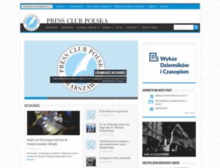 pressclub.pl screenshot