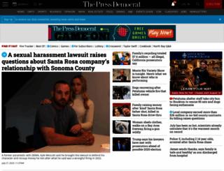 pressdemocrat.com screenshot