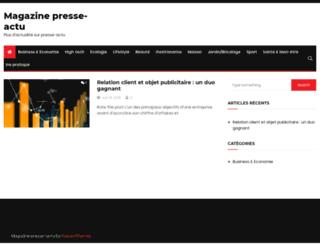 presse-actu.fr screenshot