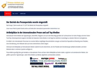 presse-artikel.org screenshot