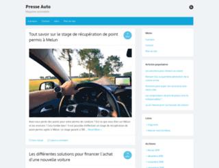 presse-auto.fr screenshot