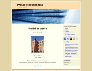 presse-et-multimedia.fr screenshot