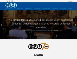 presse-francophone.org screenshot