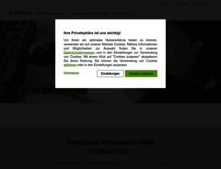 presse.barmer-gek.de screenshot