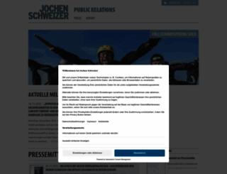 presse.jochen-schweizer.de screenshot