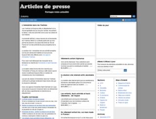 presse.theblackmelvyn.com screenshot