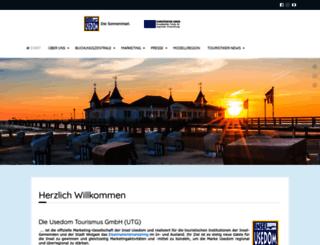 presse.usedom.de screenshot