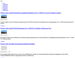 presse.wagner-solar.com screenshot