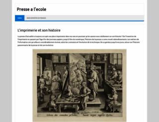 pressealecole.fr screenshot