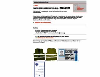 presseausweis.ag screenshot