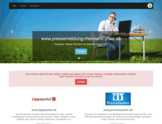 pressemeldung-rheinland-pfalz.de screenshot
