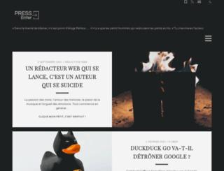 pressenter.fr screenshot