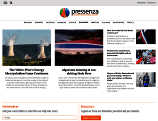 pressenza.com screenshot