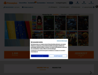 presseplus.de screenshot