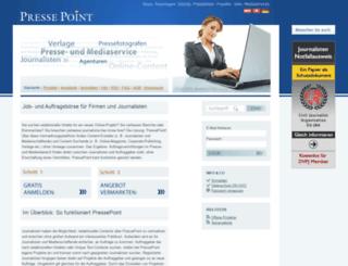 pressepoint.org screenshot