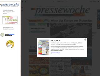 pressewoche.info screenshot