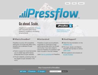 pressflow.org screenshot