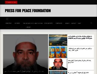 pressforpeace.org.uk screenshot