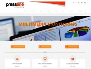 pressline.it screenshot