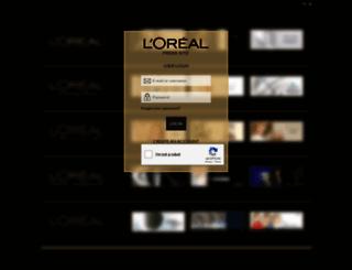 pressloreal.be screenshot