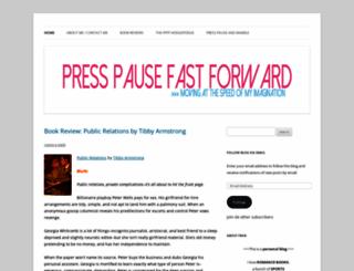 presspausefastforward.wordpress.com screenshot