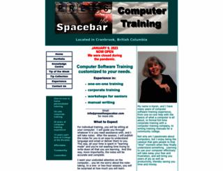 pressthespacebar.com screenshot