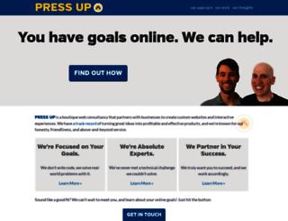 pressupinc.com screenshot
