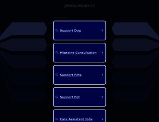 pressurecare.nl screenshot
